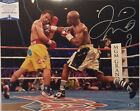 Floyd Mayweather Jr Autographed 16x20 Photo vs Paccqiao Beckett Witnessed COA