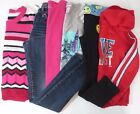 LOT JUSTICE Girls Size 10 Clothes Sweater Tops Jeans Pants Outfits Fall Winter