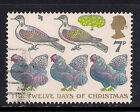 GB 1977 QE2 7p Christmas Used Stamp SG 1044 M859