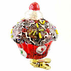 Holiday Ornament CANDY CUPCAKE CHERRY Clip Ornament Pastries 3620474