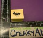 TINY ANT BUG RUBBER STAMP HOOKS LINES AND INKERS H29