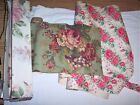 Vintage Pink Roses Adhesive Contact Paper Wallpaper Crafts Lining Drawers Boxes