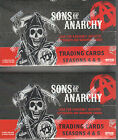 Sons of Anarchy Seasons 4 and 5 - 2 (TWO) Factory Sealed Trading Card Boxes