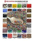 TINY BEADS 11 0 Czech 10 Grams Glass Seed Beads PICK COLOR