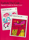 Explode the Code Teachers Guide for Books 3 and 4 2nd Edition