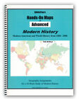 BiblioPlans Hands On Maps for Advanced Modern History Grades 8 12