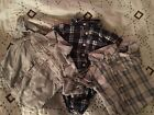 3 Baby Boys Dress Shirts Lot Oshkosh Old Navy 3 To 6 Months