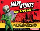 MARS ATTACKS REVENGE FACTORY SEALED BOX SET WITH 2 HITS-SKETCH,GOLD,AUTOGRAPH