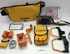 CANON AS-6 AQUA SNAPPY Film CAMERA w/ Accessories Set for Underwater Pictures