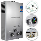 18L 5GPM Hot Water Heater Propane Gas Instant Tankless Boiler LPG w Shower