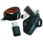 Galco Concealable Belt Holster Left Hand Black CON251B