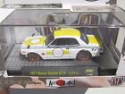 1971 NISSAN SKYLINE GT-R * CHASE CAR * M2 MACHINES AUTO-JAPAN R1 CHASE CAR 1:64