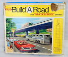 Vintage 1967 Matchbox Super Build A Road Highway Track Set Kit