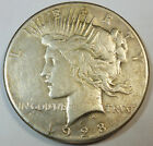 1928 United States American Peace Silver Dollar XF Extra Fine w Old Cleaning