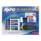 Expo Low Odor Dry Erase Marker Set Assorted Colors and Sizes 18 Piece Set