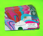 Lot of 25 NEW Starbucks Celebration Gift Cars Latte with Sparklers fast shipping