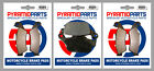 Front & Rear Brake Pads for Honda XRV750 Africa Twin 94-03