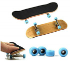 Maple Wood Finger Skateboard with PU Non slip Pad and Professional Bearing