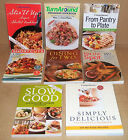 8 WEIGHT WATCHERS COOKBOOKS SLOW GOOD DINING FOR TWO HIT THE SPOT STIR IT UP