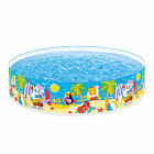 Intex Seahorse Buddies Kids 8 Foot Instant Kiddie Water SnapSet Swimming Pool