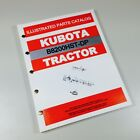 KUBOTA B8200HST-DP TRACTOR PARTS ASSEMBLY MANUAL CATALOG EXPLODED VIEWS NUMBERS