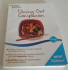 Weight Watchers Dining Out Companion Paperback 2011 Free Shipping