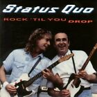 Status Quo - Rock 'til You Drop - Status Quo CD M1VG The Fast Free Shipping