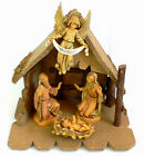 Fontanini Nativity Set Baby Jesus Joseph Mary Angel Wood Creche Christmas 85