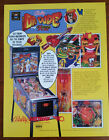 Original BALLY MIDWAY - DR. DUDE & HIS EXCELLENT RAY Pinball Flyer - SHIP FREE
