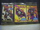 1996 COMBO MAN PROMO CARDS 2 AND 3 PLUS THE PREPAID PHONE CARD ( MINT CONDITION)