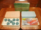 Vtg Zig Zag Deluxe Sewing Machine Attachments w/original Plastic Boxes 17 Cams