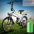 FOLDABLE 36V ADULTS ELECTRIC BIKE 36V EBIKE SCOOTER CITY URBAN COMMUTER BICYCLE!