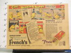 newspaper ad 1937 Frenchs bird seed food bisquit canary Charlie Chirp comic