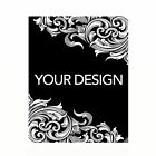 Request Custom Design NICKEL photo image text engraved neck plate 700 3800