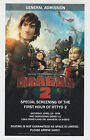 2014 SDCC WONDERCON HOW TO TRAIN YOUR DRAGON 2 MOVIE ADMISSION PROMO CARD