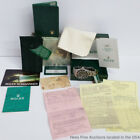 Modern Holy Grail Rolex Submariner 168000 Watch Box Paper Tag Full Kit