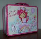 NEW Strawberry Shortcake Metal Lunchbox Lunch box NEW girls pink Simply Sweet LB