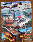 Original Williams - NO FEAR Pinball Flyer -FREE SHIPPING TOO