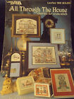 All Through The House Charted for Cross Stitch Leisure Arts 189