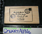POSTCARD CANCELATION CARD LETTER RUBBER STAMP TIN CAN MAIL