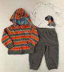 Just One You by Carters Toddler Boy 18 Months 3 Piece Long Sleeve Fleece Outfit