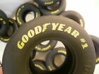 Set of 4 1/8 Scale Good Year Eagle # 1 Drag Slick Tires FOR REVEL 1:8 Model Car