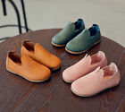 Child Kids Baby Girl Soft Leather Shoes Moccasins Sneakers Anti slip Prewalkers