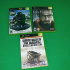 XBox games set of 3 Halo, Half Life2, Brothers in Arms