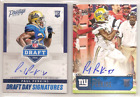 2016 Panini Prestige Football Cards - Print Runs Added for Draft Day Signatures 12