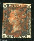 Great Britain #1  Penny Black used Cat $300