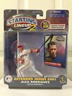 STARTING LINEUP EXTENDED SERIES 2001 ALEX RODRIGUEZ TEXAS RANGERS NEW ON CARD