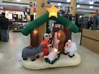 Gemmy 6 Airblown Holy Family Nativity Scene Christmas Inflatable Xmas