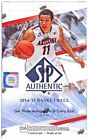 2014 15 Upper Deck SP Authentic Basketball Hobby Box