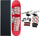 TOY MACHINE Complete Pro Skateboard FISTS assorted colors 775